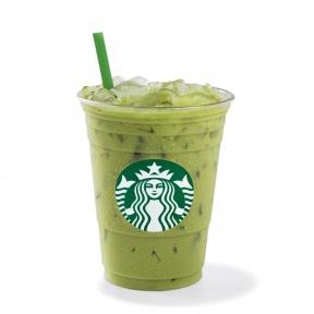 Iced Green Tea Latte - Starbucks Coffee Australia