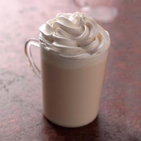 White Hot Chocolate - Starbucks Coffee Australia