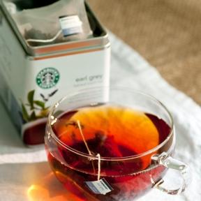 Earl Grey Tea - Starbucks Coffee Australia